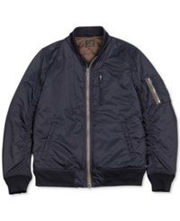 Lucky Brand Nylon Bomber Jacket Savile Row