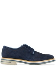 Brimarts Derby Shoes Blue