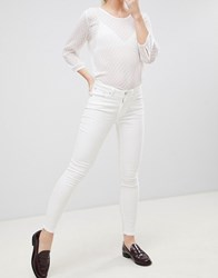 Blend She Bright Ora Skyblue Skinny Jeans Bright White