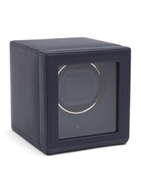 Wolf Cub Watch Winder With Cover Blue
