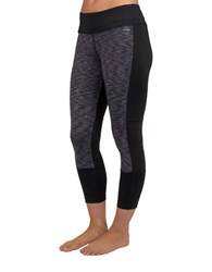 Jockey Equilibrium Capri Leggings Deep Black