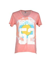 American College Topwear T Shirts Men Pink