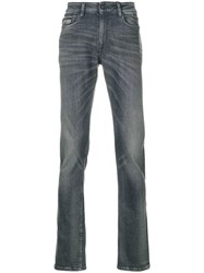 Ck Calvin Klein Jeans Faded Slim Fit Jeans Grey
