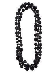 Urban Zen Chunky Necklace Black