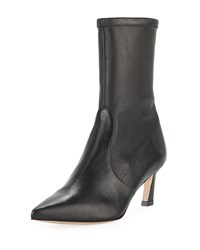 Stuart Weitzman Rapture 55Mm Lush Napa Sock Bootie Black