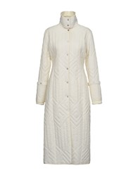 Guess By Marciano Synthetic Down Jackets Ivory