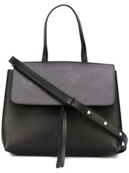 Mansur Gavriel Top Handle Crossbody Bag Black