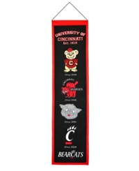 Winning Streak Cincinnati Bearcats Heritage Banner Team Color