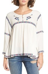 Roxy Women's June Sky Peasant Top
