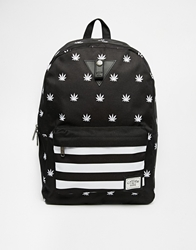 Cayler And Sons Budz 'N' Stripes Backpack Black