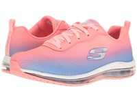 Skechers Ombre Mesh Lace Up W Air Cool Pink Blue Women's Shoes