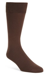 Nordstrom Men's Men's Shop Ultra Soft Socks Brown