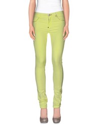 Philipp Plein Trousers Casual Trousers Women Acid Green