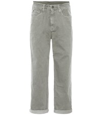 Brunello Cucinelli The Drawstring Boyfriend Jeans Green