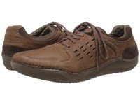 Hush Puppies Hinton Method Brown Leather Men's Lace Up Casual Shoes