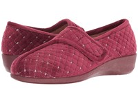 Foamtreads Katla Burgundy Women's Slippers