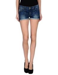 Firetrap Denim Shorts Blue