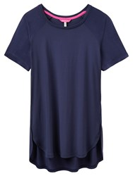 Joules Claire Jersey Top French Navy