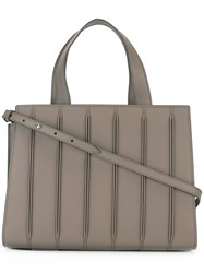Max Mara Medium Handle Tote Bag Brown