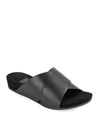 Eileen Fisher Hippie Leather Sandals Black