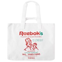 Reebok Pizza Tote Bag White