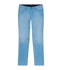 Brioni Straight Stretch Jeans Male Blue