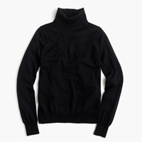 J.Crew Merino Turtleneck Sweater Black