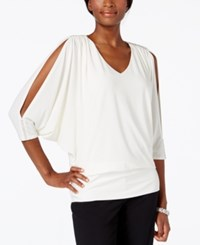 Msk Embellished Cold Shoulder Blouse