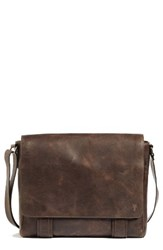 Frye Men's 'Logan' Messenger Bag Brown Online Only Slate