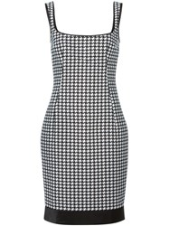 Dsquared2 Houndstooth Dress Black