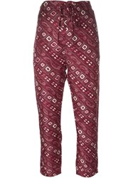 Isabel Marant 'Trina' Trousers Red