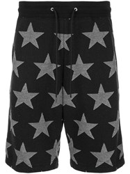 Guild Prime Star Print Bermuda Shorts Black