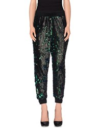 Odi Et Amo Trousers Casual Trousers Women Green