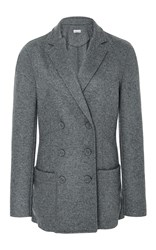 Tomas Maier Double Breasted Blazer Grey