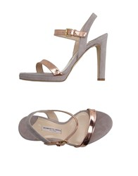 Roberto Festa Footwear Sandals Women Light Grey