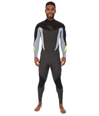 Rip Curl Dawn Patrol Back Zip 3 2 Gb Full Suit Grey Men's Wetsuits One Piece Gray
