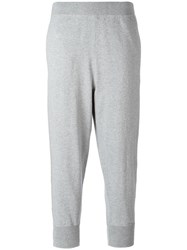 Vince Cropped Joggers Grey