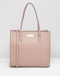 Carvela Pebble Structured Tote Bag Pink