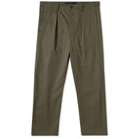 Valentino Cropped Tapered Cargo Pant Green