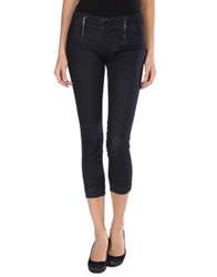 Genetic Denim Denim Capris Blue