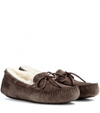 Ugg Dakota Shearling Lined Moccasins Brown