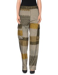 Missoni Trousers Casual Trousers Women Ocher