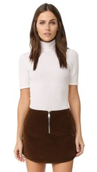 Three Dots Cleo Turtleneck Gardenia