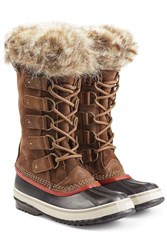 Sorel Joan Of Arctic Tall Boots With Faux Fur Brown