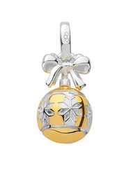 Links Of London Silver And Gold Vermeil Star Bauble Charm N A N A