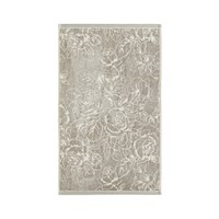 Sanderson Chelsea Rose Towel Silver Bath Towel