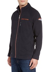 Tommy Bahama Men's 'Nfl Blindside' Knit Zip Jacket Broncos