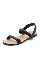 See By Chloe Padded Flat Sandals Nero