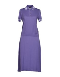 Ballantyne Knee Length Dresses Purple