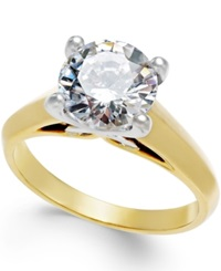 X3 Certified Diamond Engagement Ring In Titanium 2 Ct. T.W. No Color